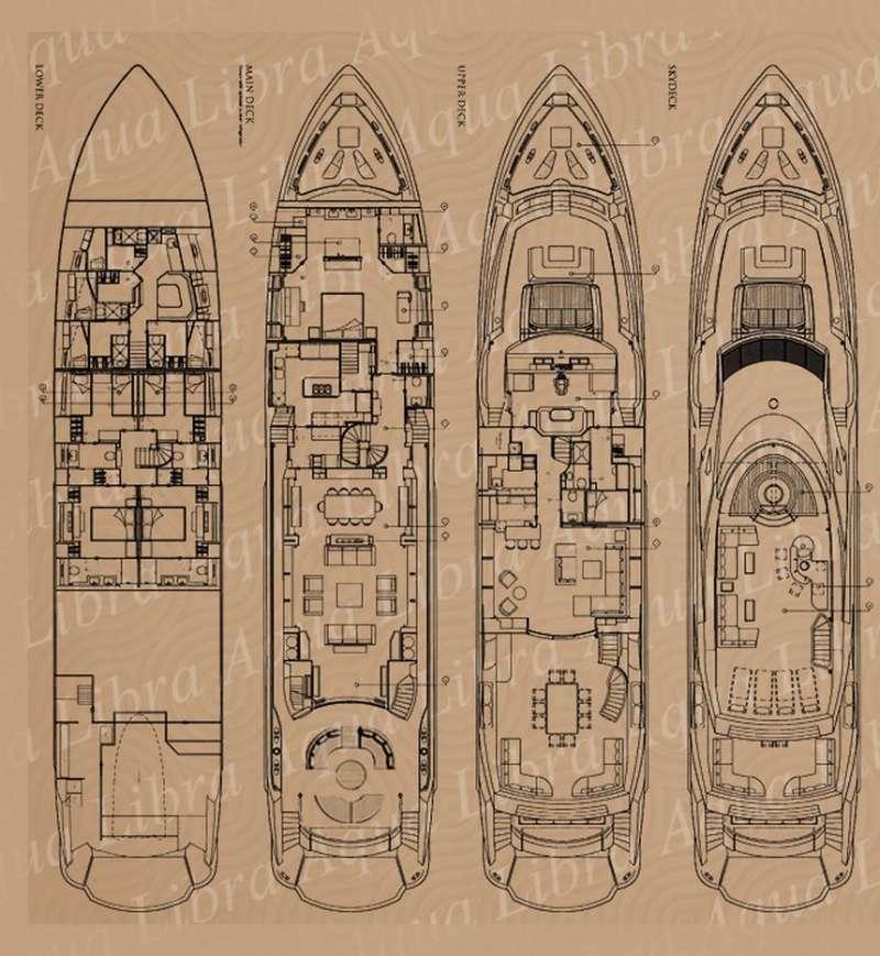 AQUA LIBRA 131's layout