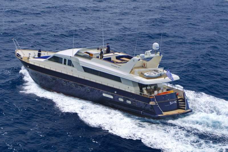 Imbarcazione BLU SKY