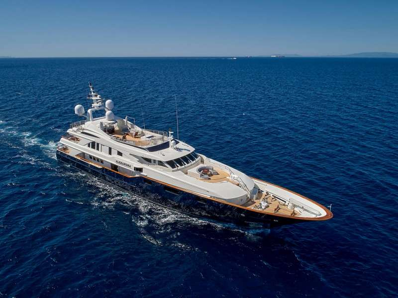 Yacht ALEXANDRA