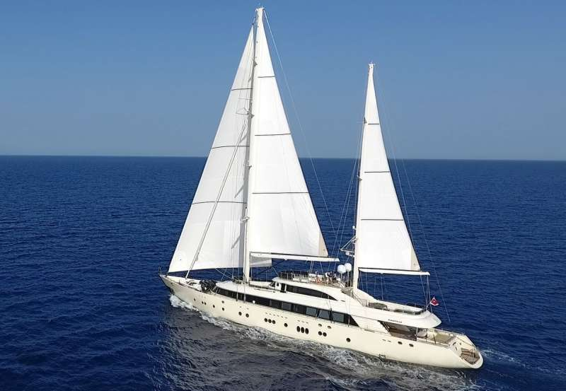 Sailing Yacht ARESTEAS