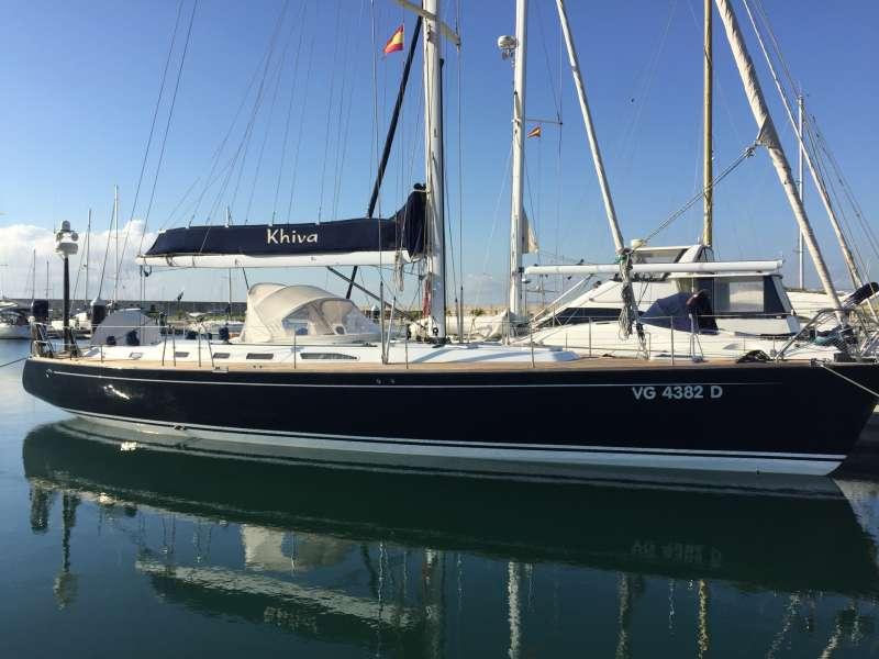 Sailing Yacht KHIVA - Starkel 56