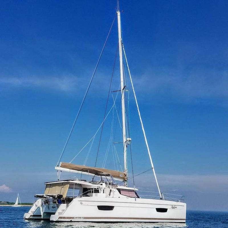 Catamaran Virgin Islands Vacation: 2-10 Guest Sailing Vacation