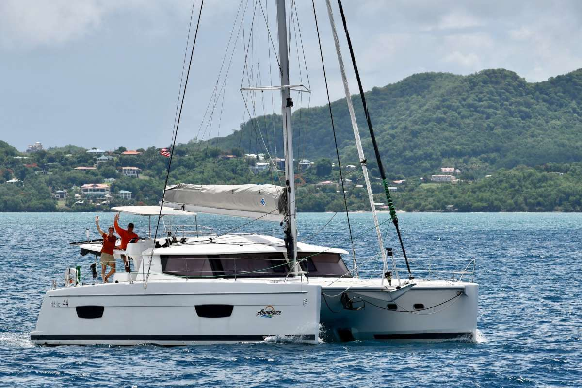 Catamaran ABUNDANCE