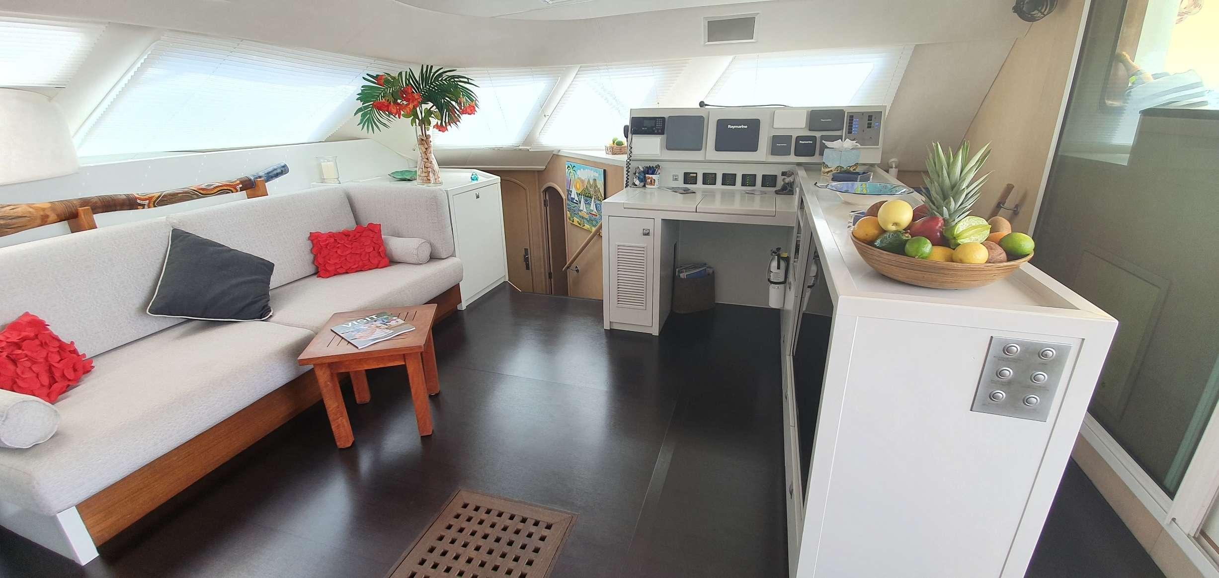 Cockpit lounge area