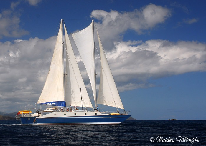Charter with CUAN LAW on compassyachtcharters.com