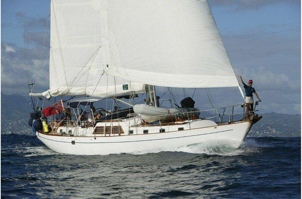 Sailing Yacht THE DOVE