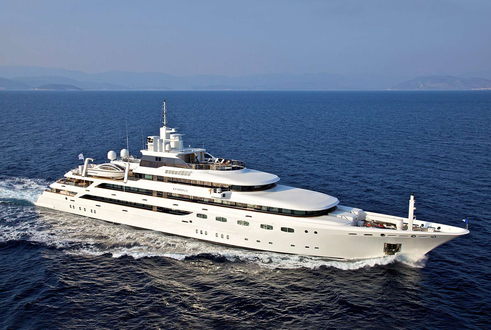 O'mega Superyacht Charter