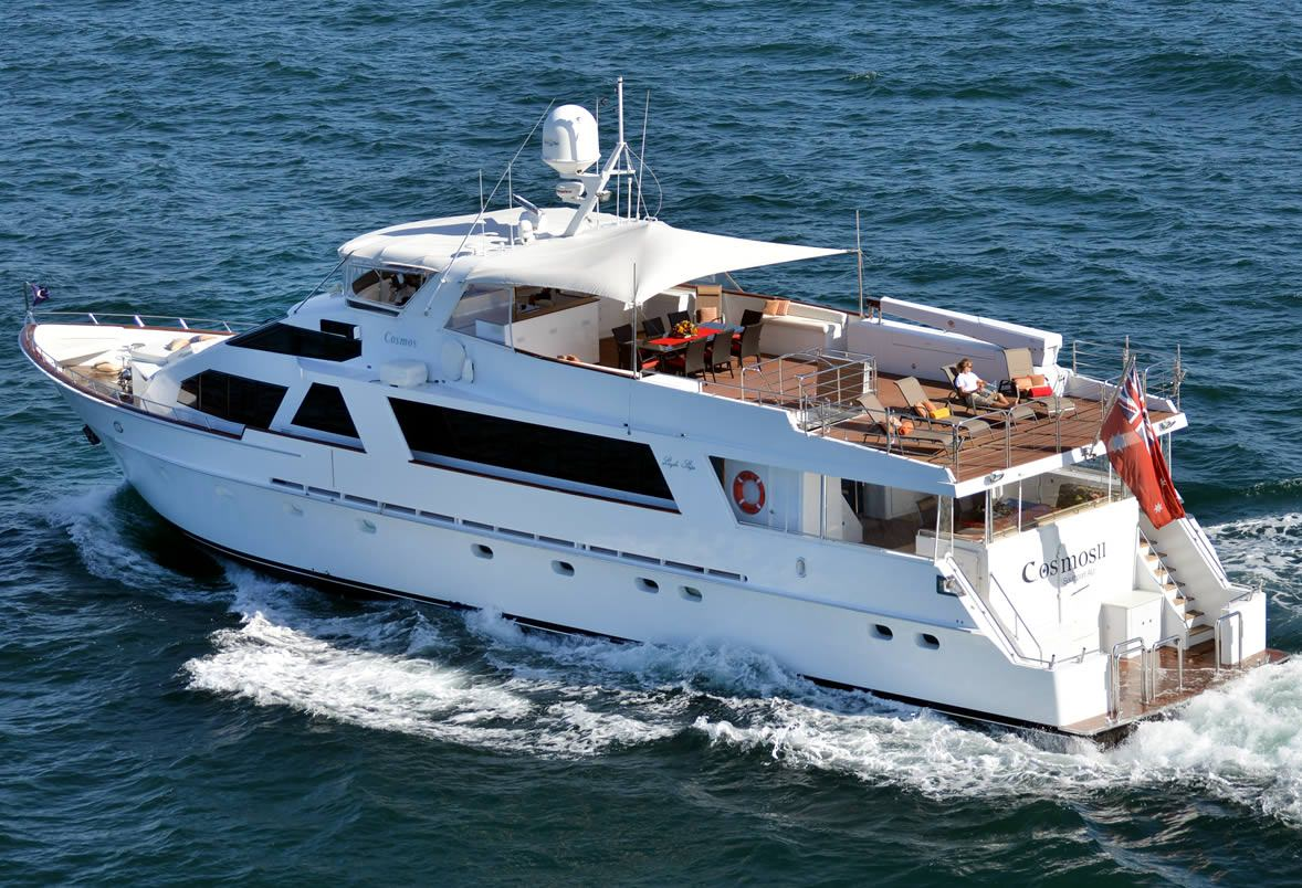 Charter with COSMOS on compassyachtcharters.com