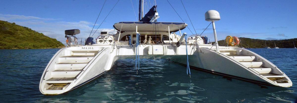 The board stern of Ma Ha