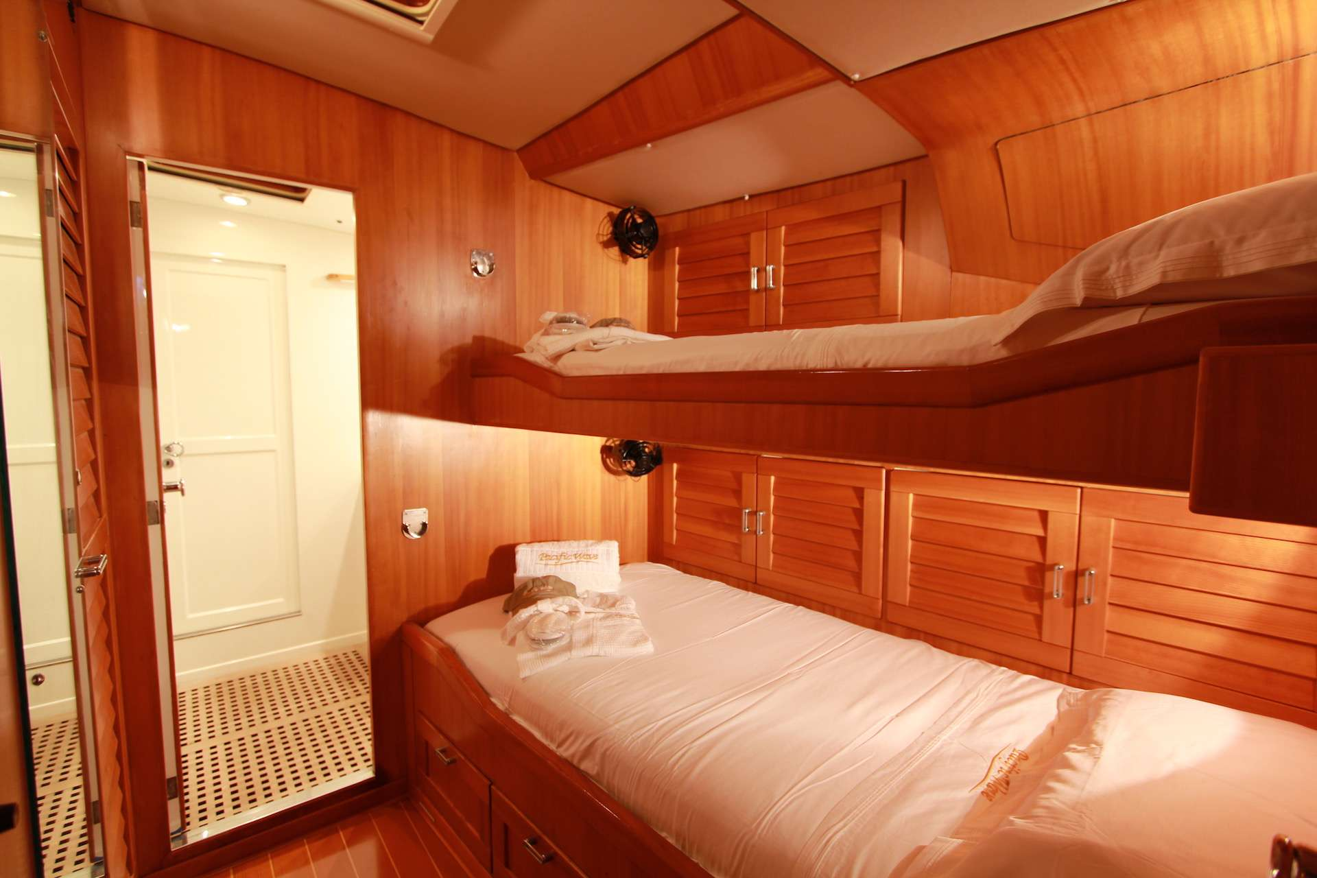 One of Two Identical Guest Staterooms