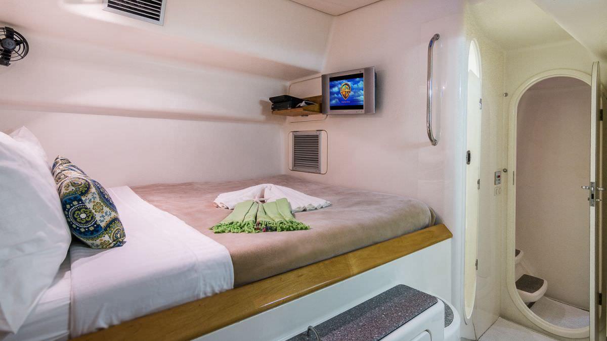 En-Suite Guest Queen Cabin