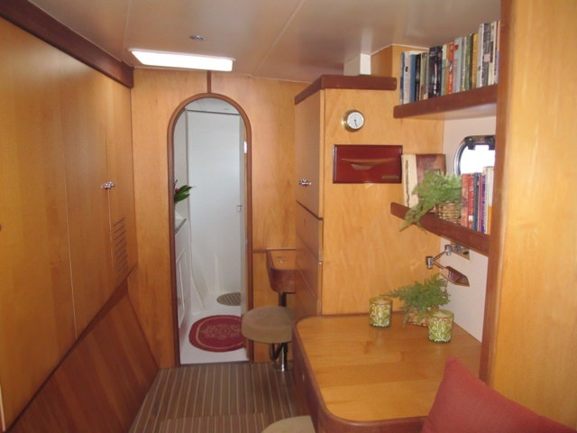 spacious master cabin with large master head..