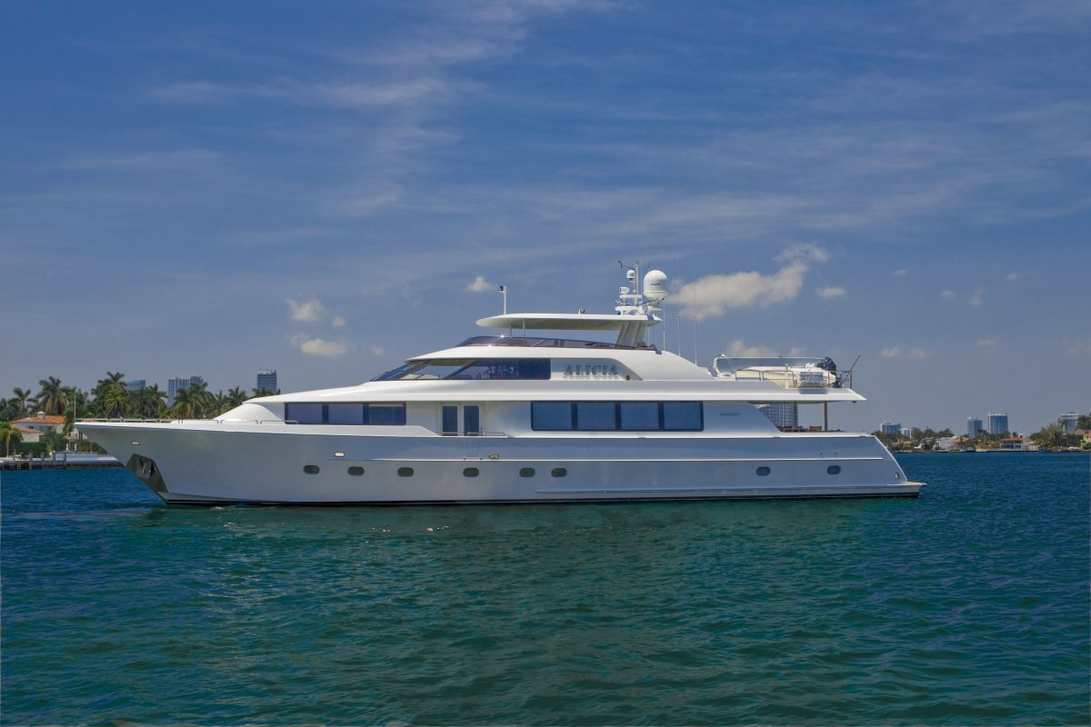 Charter with ALICIA on compassyachtcharters.com