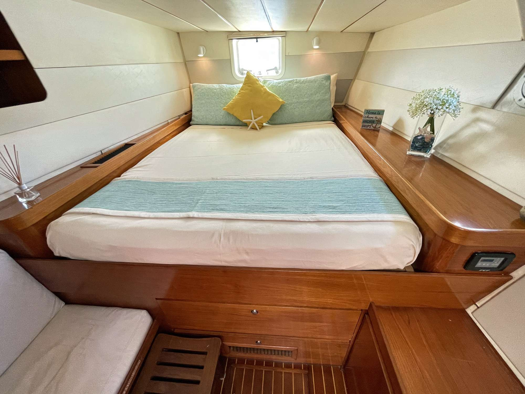 Vision starboard forward guest suite