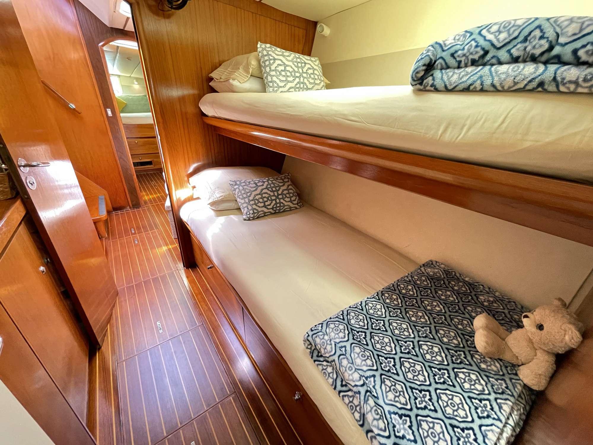Forward Port, bunk bed