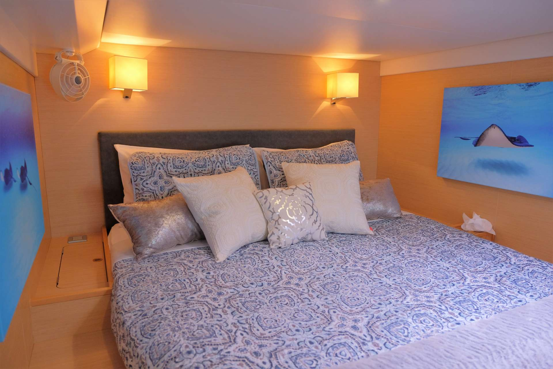 Aft Starboard Master guest suite