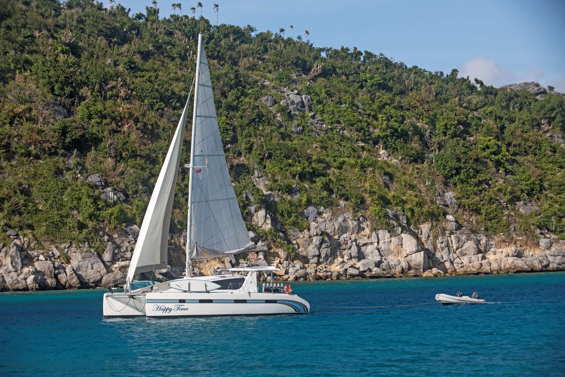 Charter with HAPPY TIME on compassyachtcharters.com