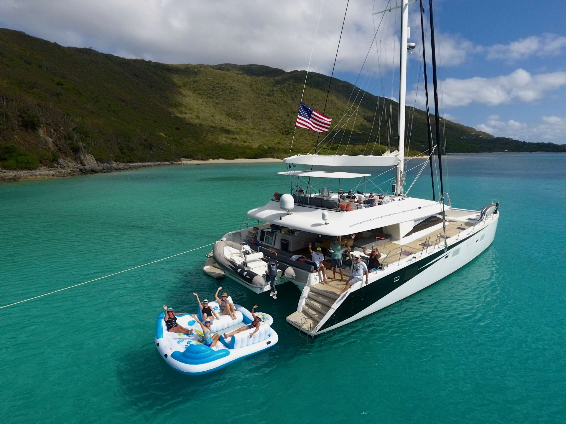 Charter with LADY KATLO on compassyachtcharters.com