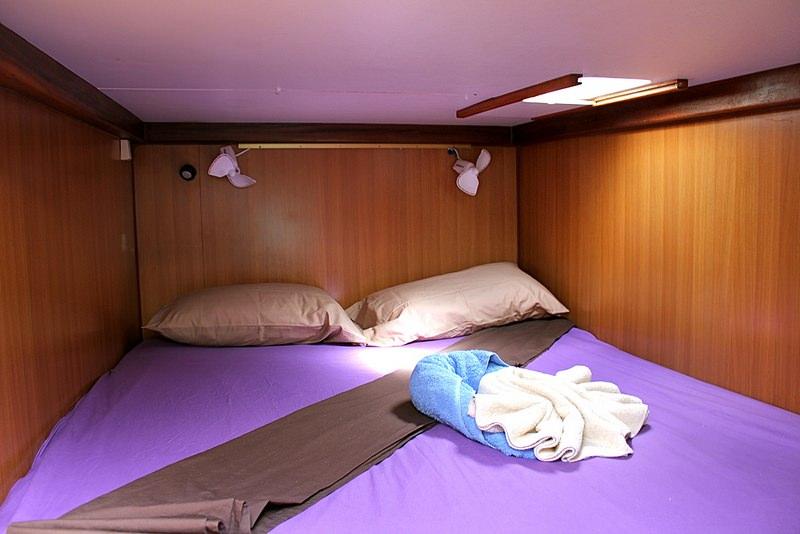 Guest cabin on Baraka