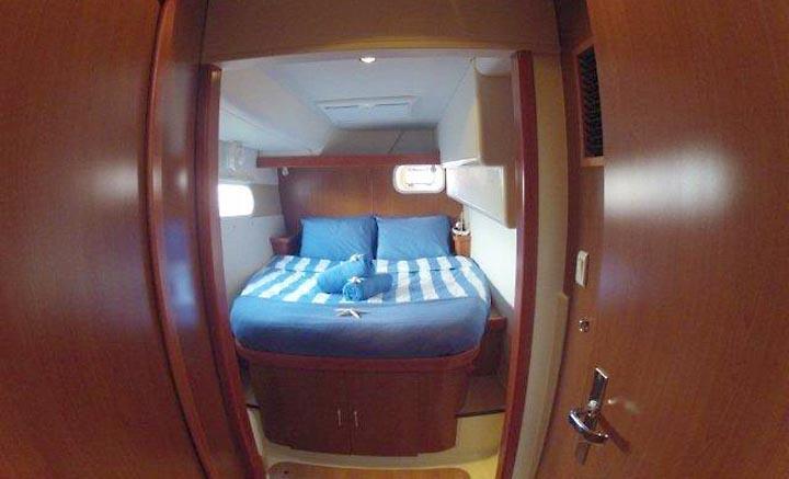 Orange queen guest suite