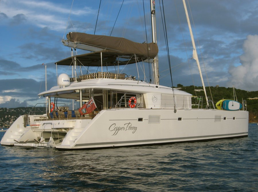 Charter with COPPER PENNY on compassyachtcharters.com
