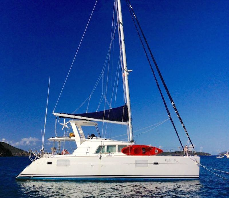 Charter with BLACK PEARL on compassyachtcharters.com