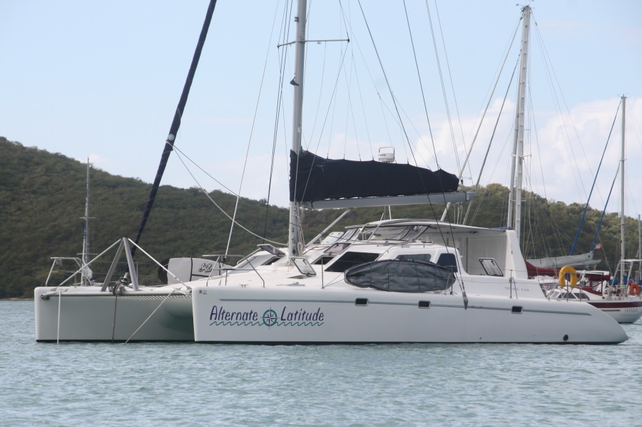 Charter with ALTERNATE LATITUDE on compassyachtcharters.com