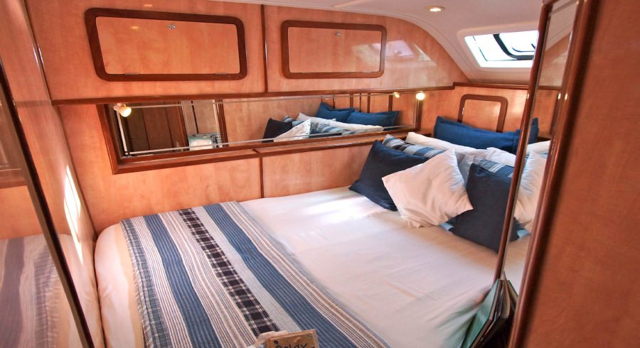 Amidships Double Guest Cabin