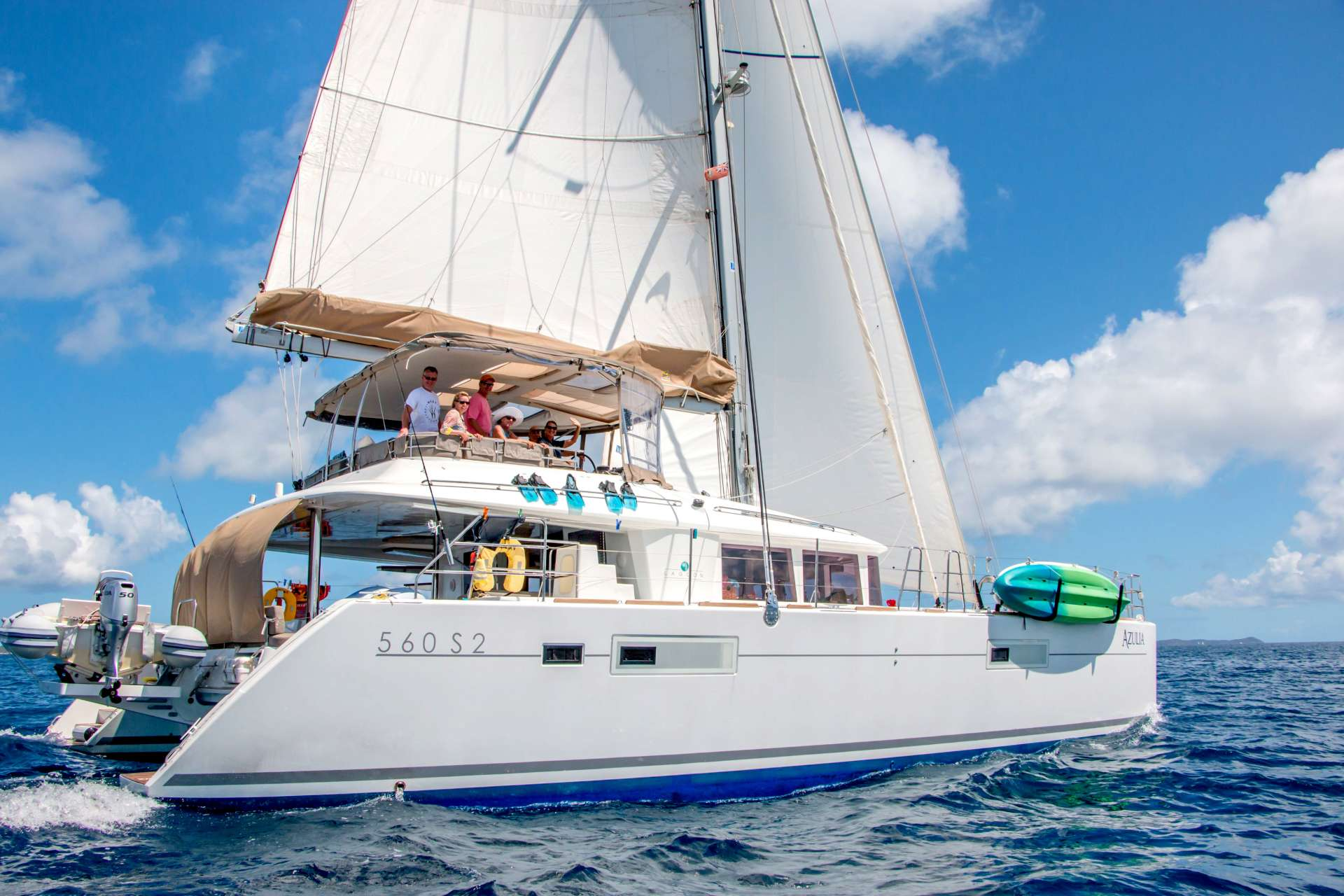 Charter with AZULIA II on compassyachtcharters.com