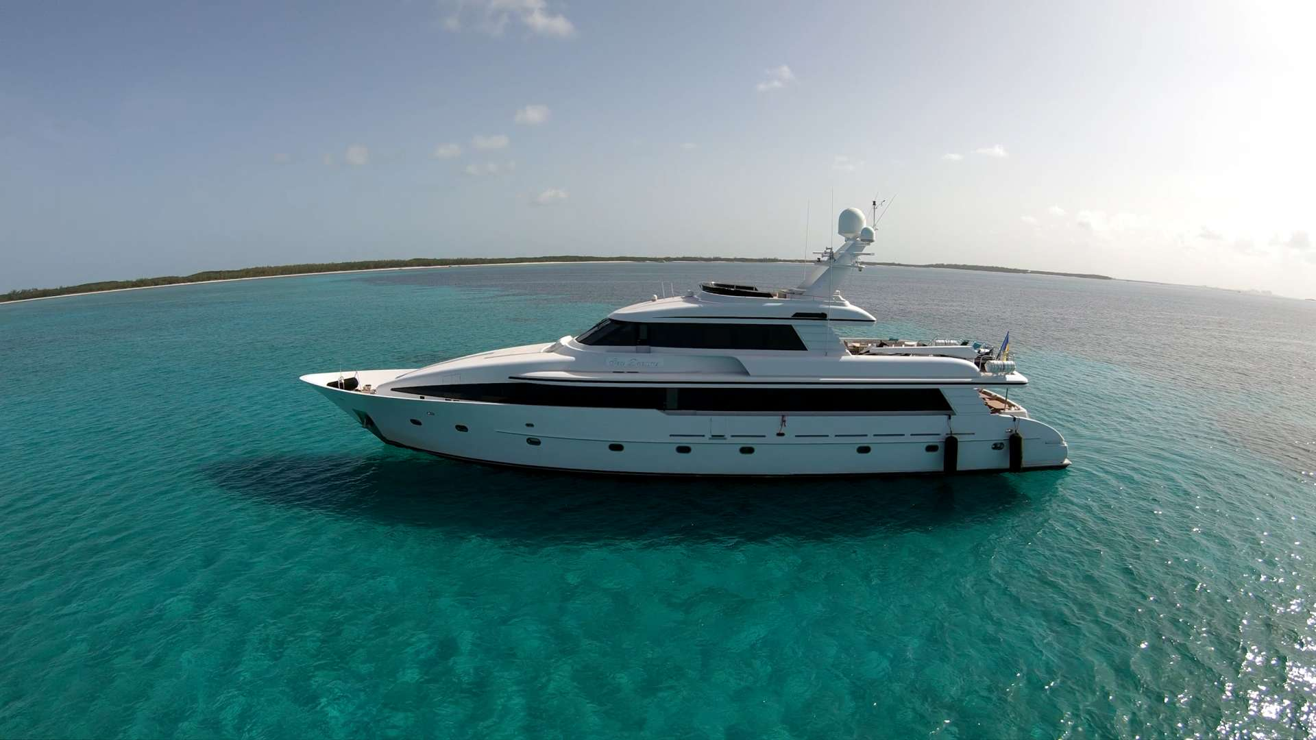 Sea Dreams yacht family charter