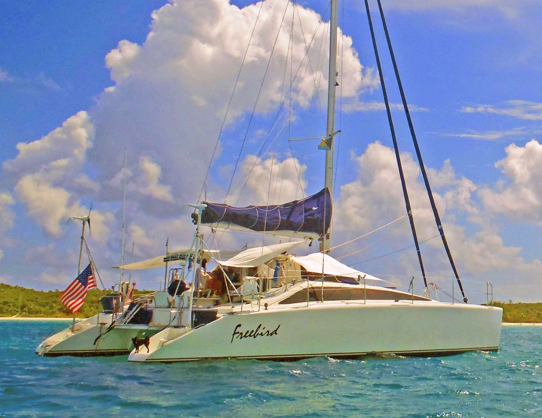 Charter with FREEBIRD on compassyachtcharters.com