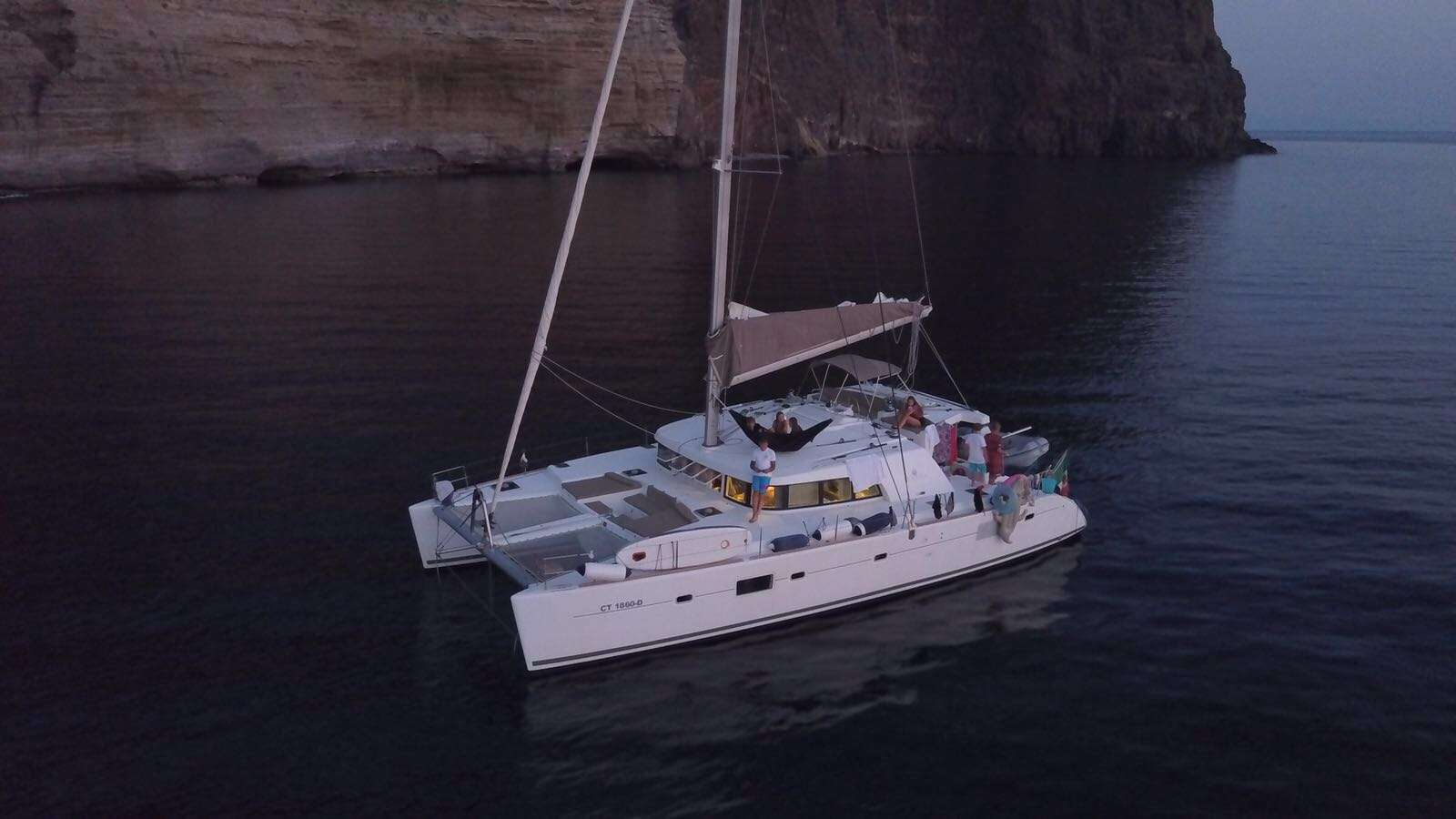 Charter with AZETA II on compassyachtcharters.com