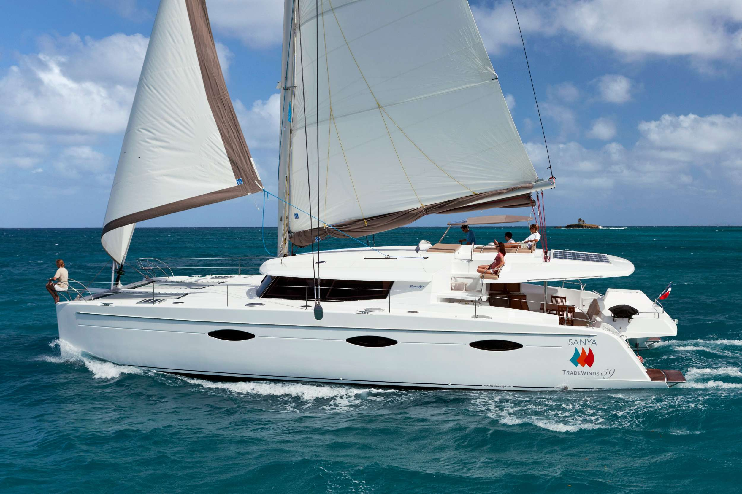 Charter with ALIVE on compassyachtcharters.com