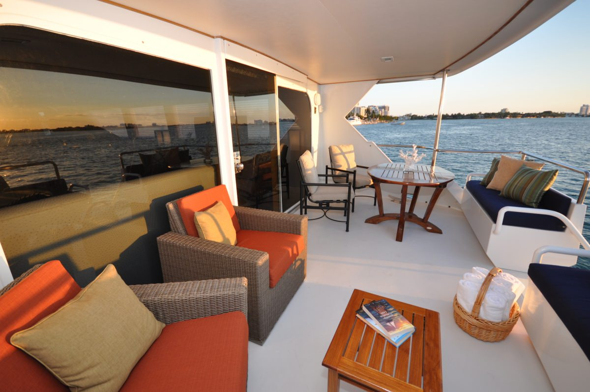GOLDEN GIRL Aft Deck