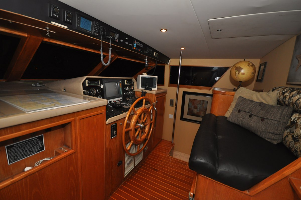 GOLDEN GIRL Pilothouse