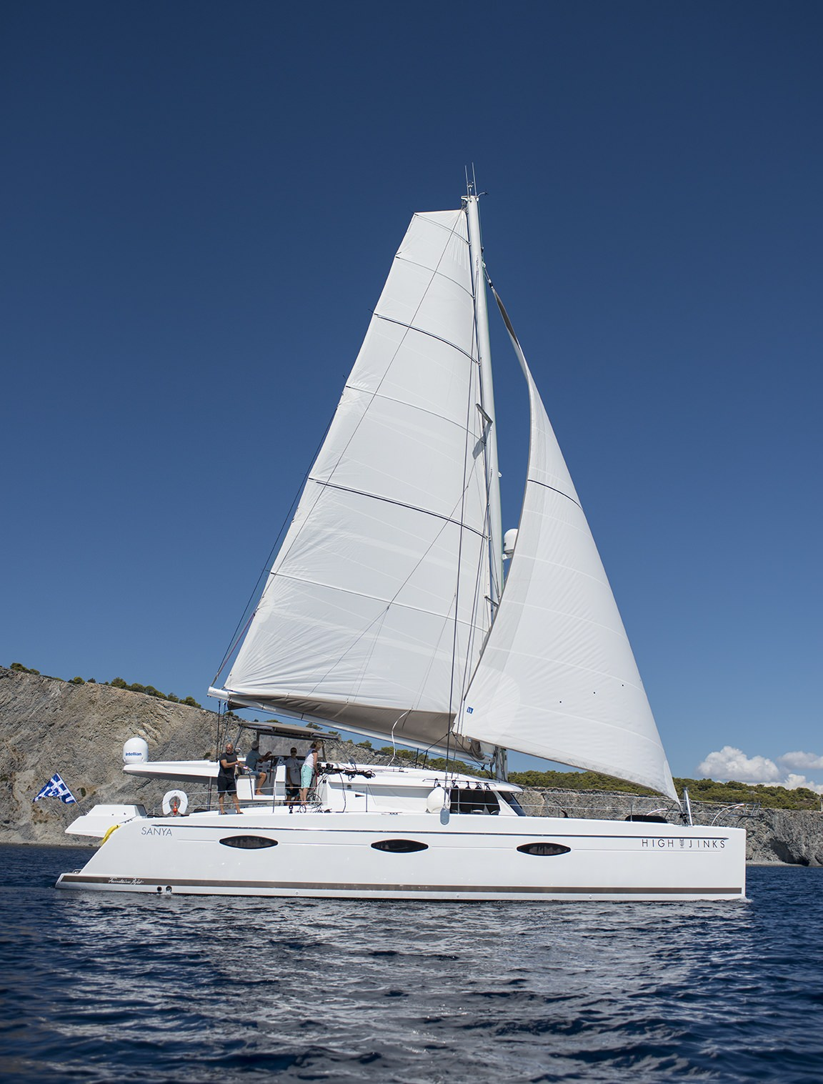 Charter with HIGHJINKS on compassyachtcharters.com