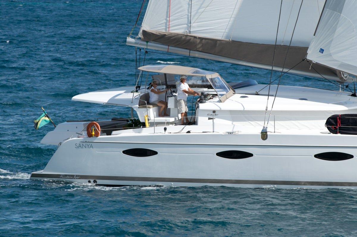 ZIMAYA Under Sail Helm & Flybridge