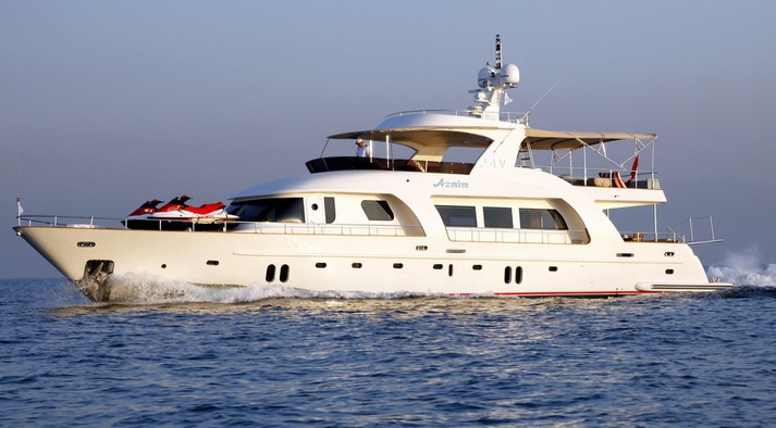 Charter with AZMIM on compassyachtcharters.com
