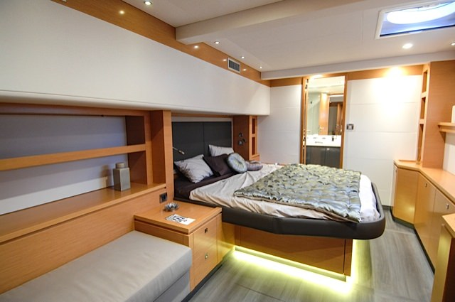 Incredible master cabin