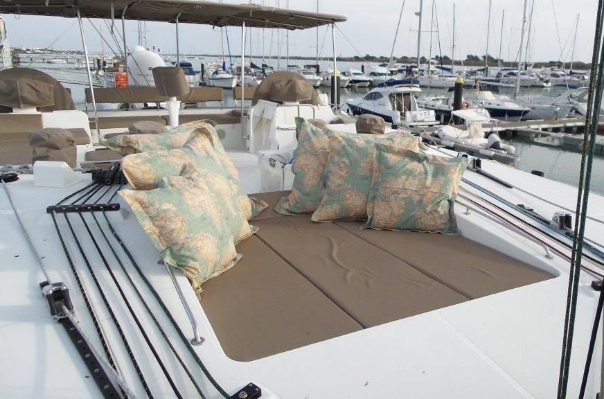 MOUN BEU Sun Lounge area on top deck