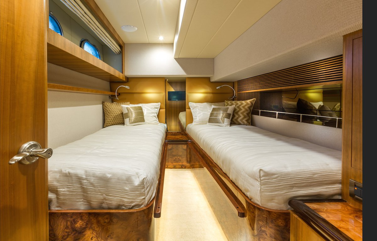 Twin Guest Stateroom - can be made into king