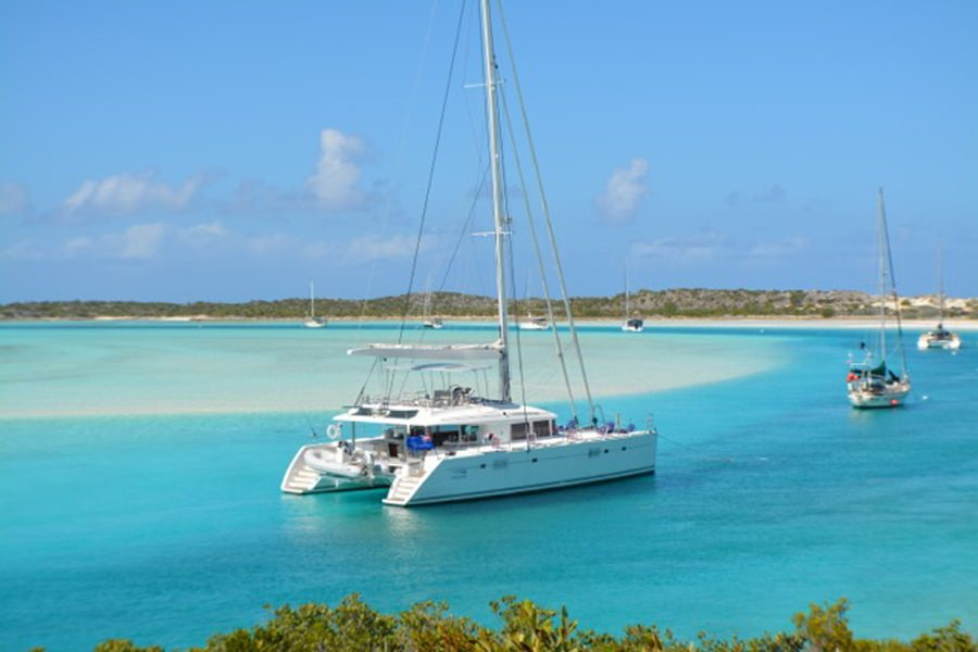 Charter with AMURA II on compassyachtcharters.com