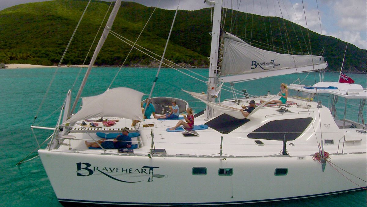 Charter with BRAVEHEART  (58 FT) on compassyachtcharters.com