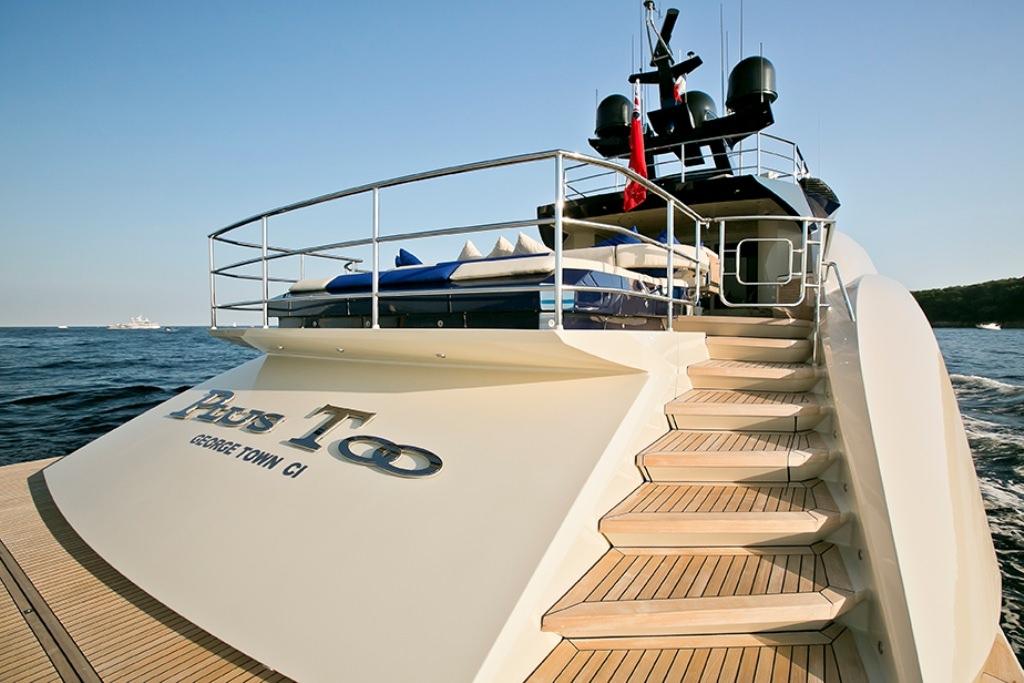 motor yacht PLUS TOO