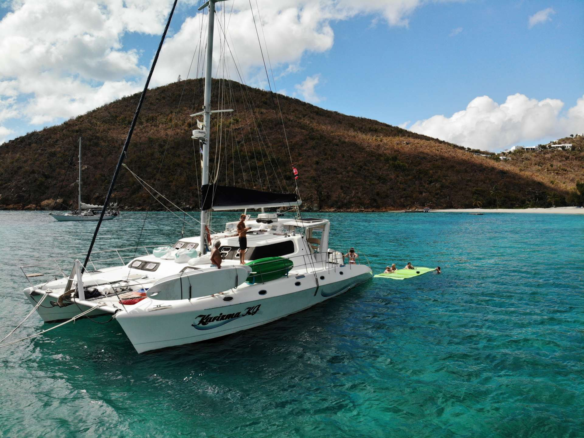 Charter with KARIZMA on compassyachtcharters.com