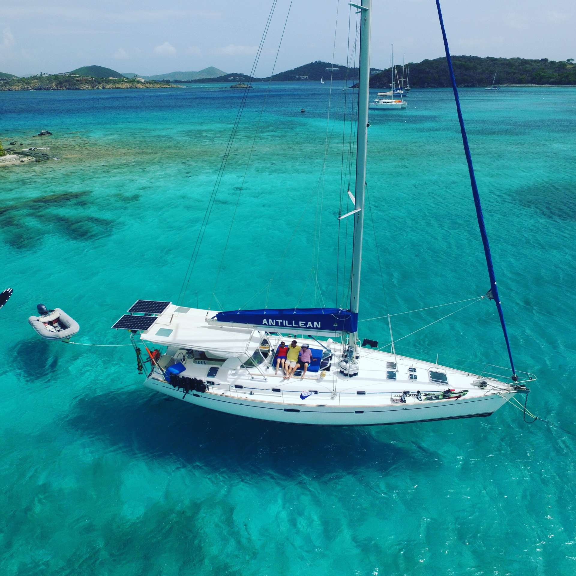 Charter with ANTILLEAN on compassyachtcharters.com