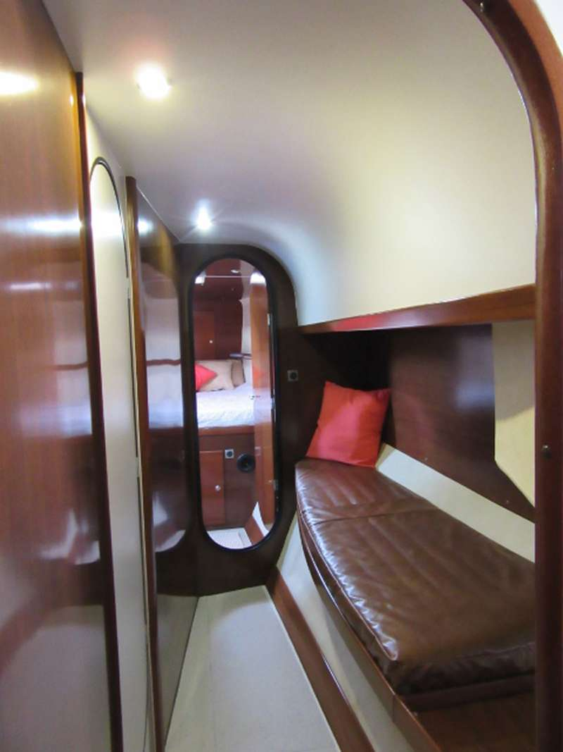 Companionway between cabins