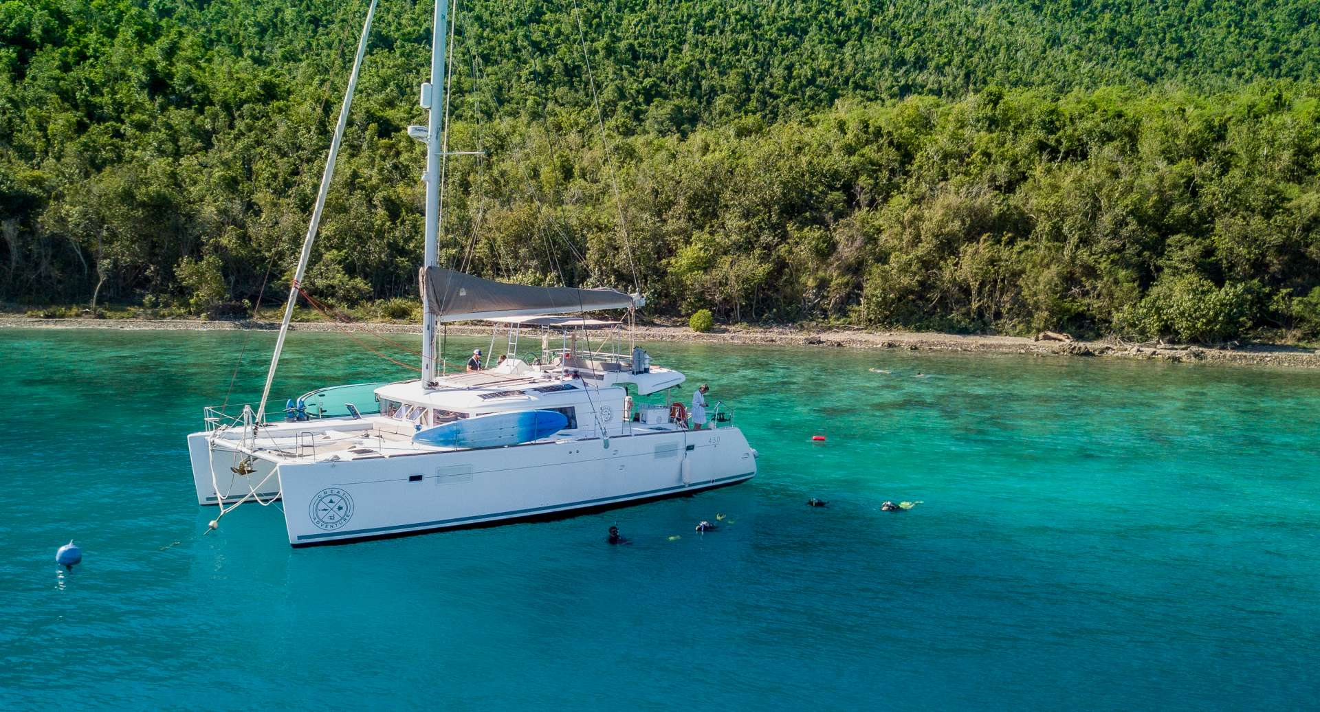 Charter with GREAT ADVENTURE on compassyachtcharters.com