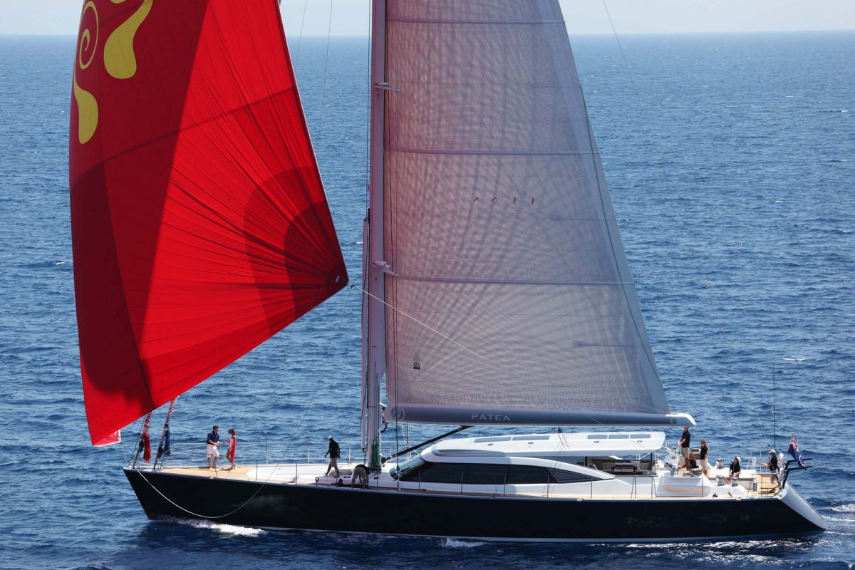 Sailing Yacht PATEA