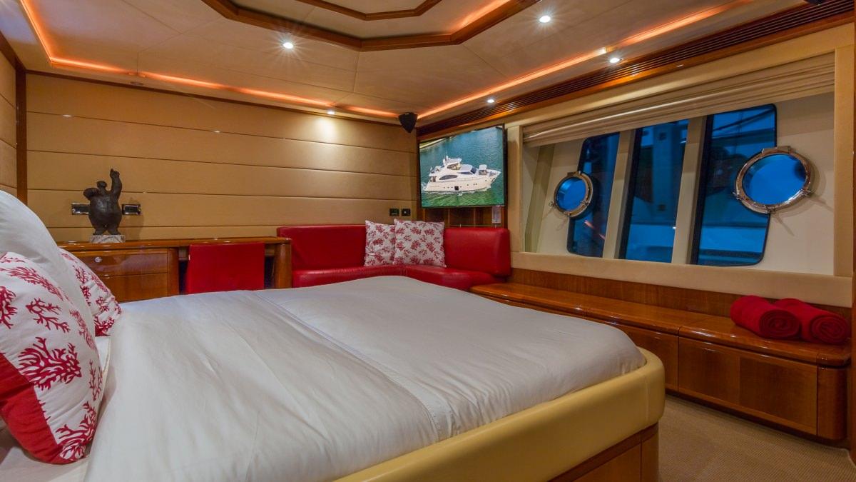 Cinque mare the catamaran company for G ferretti bathroom